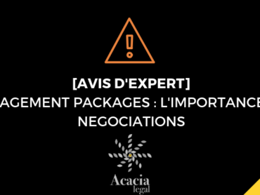 MANAGEMENT PACKAGES : L'IMPORTANCE DES NEGOCIATIONS